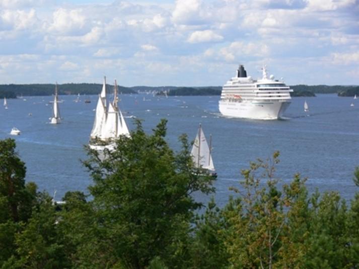 Båttrafik i Stockholms skärgård