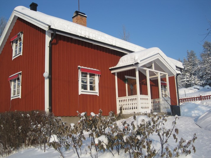 Stugan vinter
