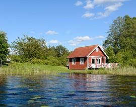 Karta Over Sveriges 25 Landskap.Stugor Sverige Sverigestugor Eu